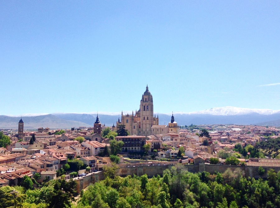 Segovia and Strasbourg